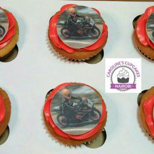 Motorbike cupcakes