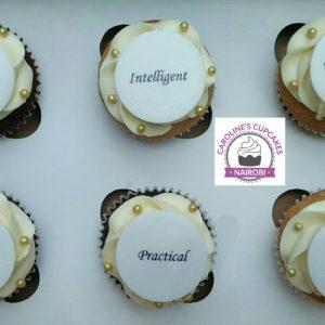 message cupcake