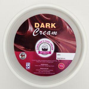 dark choc cream