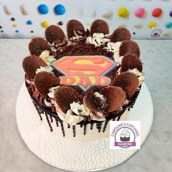 super dad choc cake