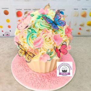 caroline mutoko giant cupcake