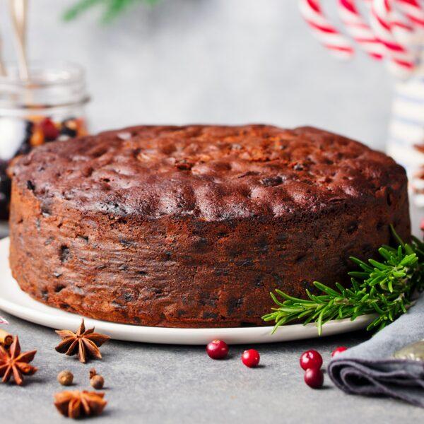 traditional xmas cake