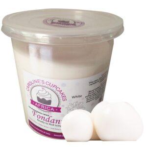 white fondant 1kg